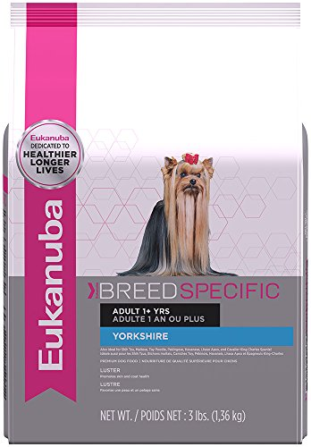 Eukanuba Dog Food Reviews (EUKANUBA Breed Specific Adult Yorkshire Terrier Dog Food 3 Pounds)