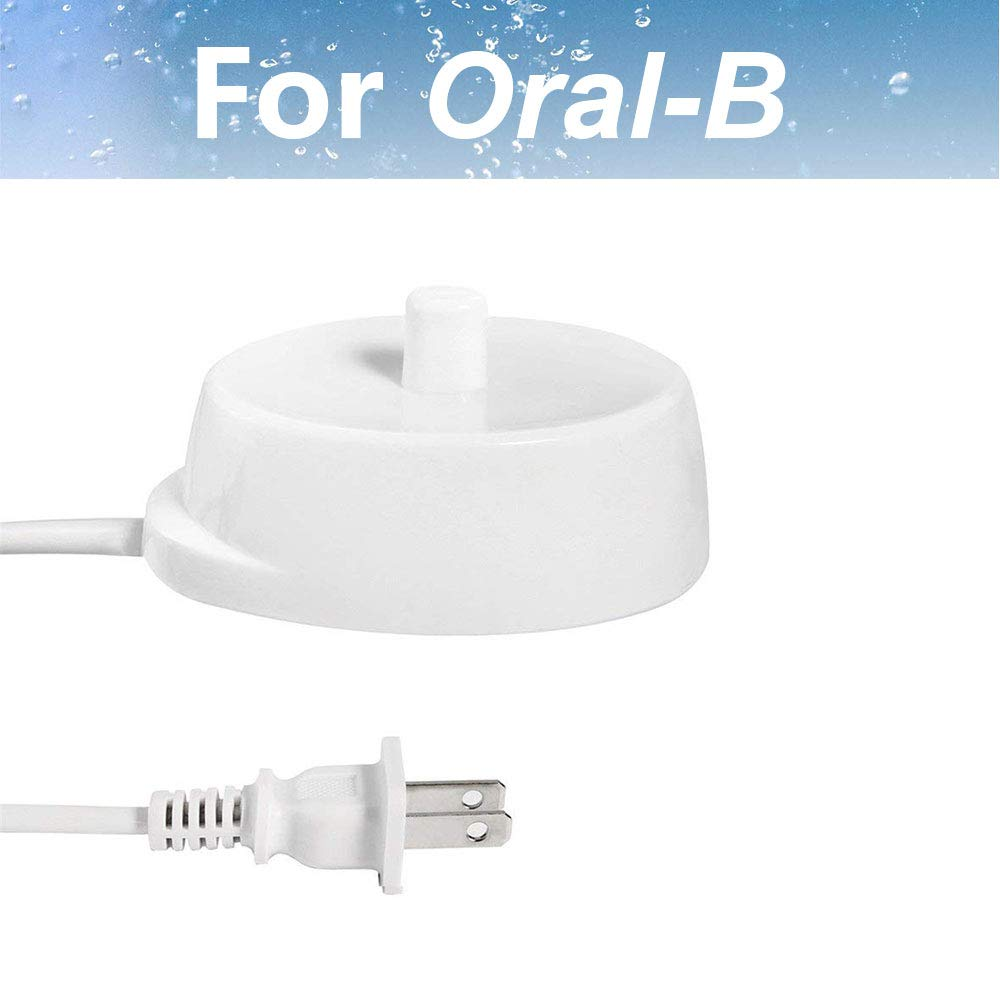 Oral B Electric Toothbrush Replacement Charger Power Cord Supply Inductive Charging Base Model 3757 Portable Environmental ABS Travel