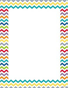 Amazoncom Creative Teaching Press Chevron Computer Paper 7119