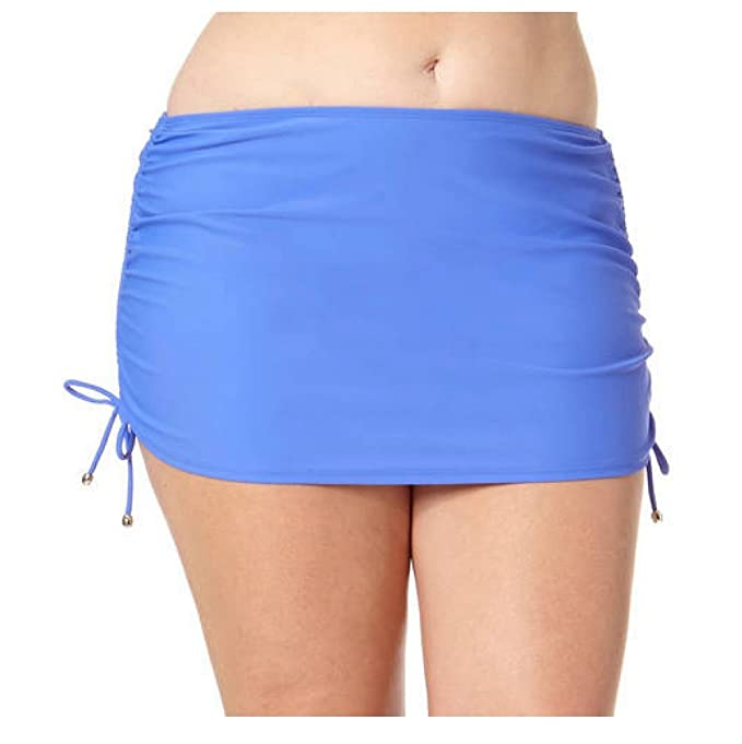 903765396afb Catalina Collections by Women's Plus Skirted Bottom (3X Plus, Blissful Blue)