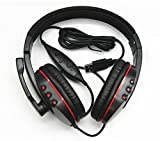 Aweek® Luxury Leather Gaming USB Headset Headphone with Microphone Earphone Player for Playstation3 PS3 / PC Review