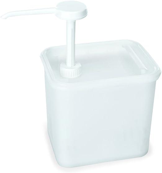 Saucenspender Dosierspender Senf Ketchup Spender Dispenser Soßenspender 2 Liter
