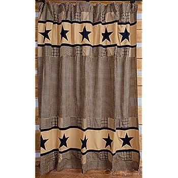 black and tan shower curtain. Jamestown Black and Tan Shower Curtain Amazon com  Home Kitchen