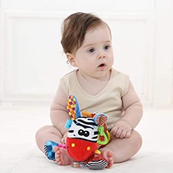 Multi-Functional Baby Doll, Child Holding Puppet Hanging Bed