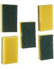 اسفنجة كلاسيك العادية الخضراء من باريكس، 5 قطع