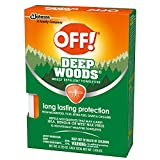 OFF! Deep Woods Towelettes, 12 CT