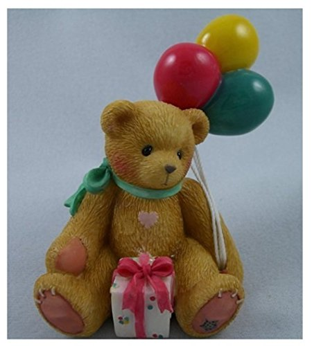 Cherished Teddies Nina…Beary Happy Wishes 215864 - Figurine Bear Cherished Teddies
