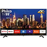 Smart TV LED 55 UHB 4K PHILCO PTV55Q20SNBL com Netflix