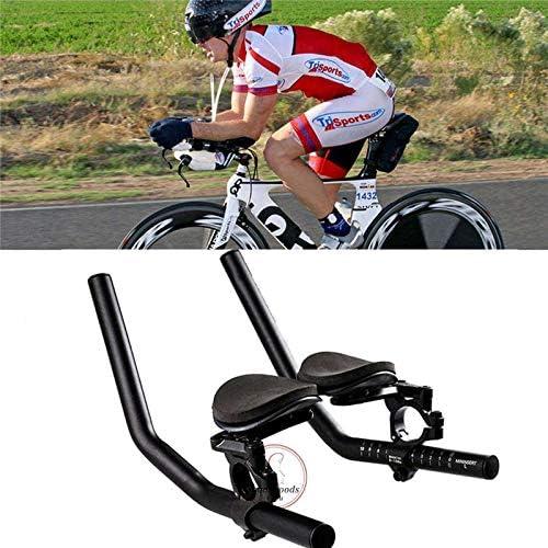EBTOOLS Lenkerauflage Armlehne Entspannung Clip-On Time Trial Bars Aluminiumlegierung Triathlon f/ür Rennr/äder Mountainbike Lenker