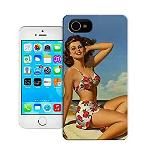 Unique Phone Case Fashion girl#6 Hard Cover for 5.5 inches iphone 6 plus cases-buythecase