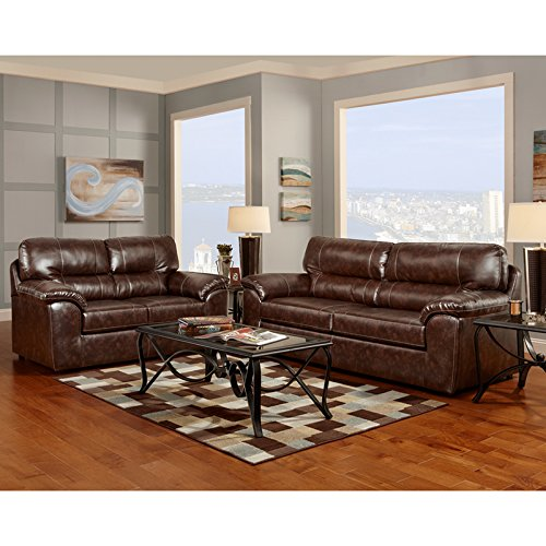 Flash Furniture Exceptional Designs by Flash Living Room Set in Cheyenne Cafe - Room Furniture Cheyenne Living