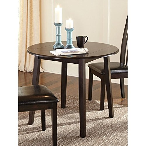 Signature Design Hammis 5-Pc Dark Brown Wood Table Set by Ashley