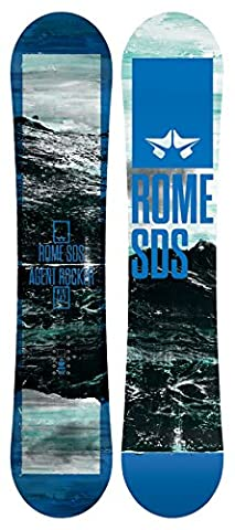 Rome Mini Agent Rocker Snowboard Boys Sz 142cm - Matrix All Terrain Snowboard