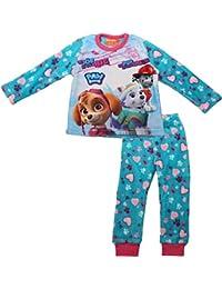 Paw Patrol Girls Premium Multi Print Coral Fleece Pyjamas By BestTrend