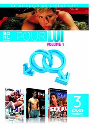 100% Gay - Coffret 1 : Luster + Like It Is + Sex/Life in L.A. ...