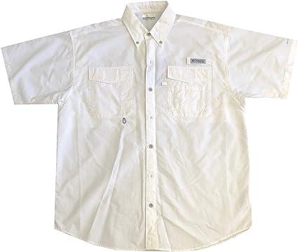 Columbia PFG Omni-Shade UPF 30 Distant Water Camisa de Manga Corta con ventilación para Hombre: Amazon.es: Ropa y accesorios