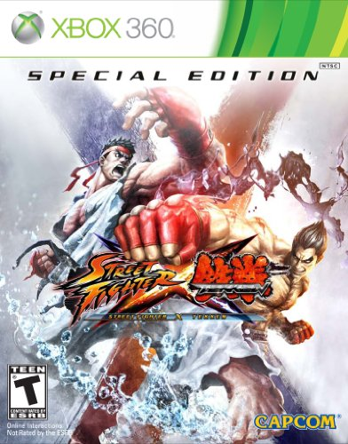 Street Fighter X Tekken: Special Edition -Xbox 360 (Street Fighter X Tekken Special Edition Xbox 360)