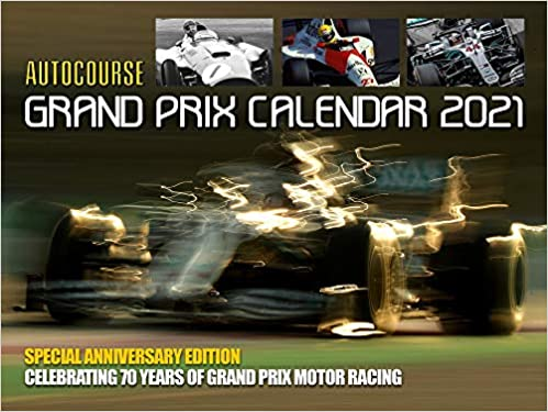 Amazon.fr   Autocourse Grand Prix 2021 Calendar: Celebrating 70