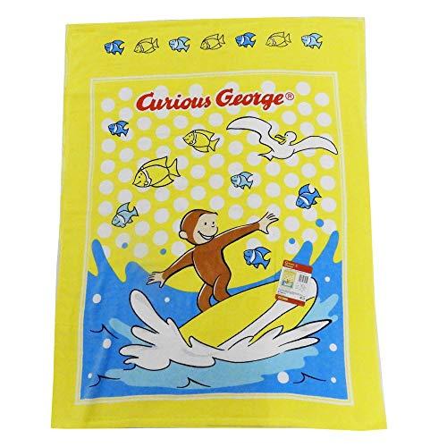 キュリアスジョ?ジ 호기심 조지 모 포 어린이 피부이 불 낮잠 용 수건 85 × 115cm / Curias George Curious George Towel Ket Children`s Skin Futon Nap Ket Towel 85×115cm