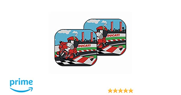 Amazon Com Ducati Corse Motorcycle Cartoon Window Sunshade For Car
