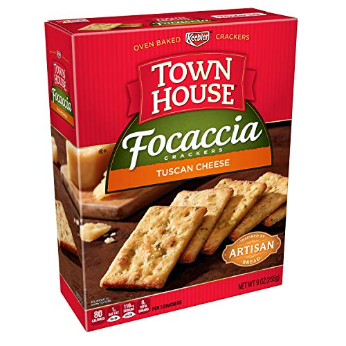 (Keebler, Town House Focaccia, Crackers, Tuscan Cheese, 9 oz)