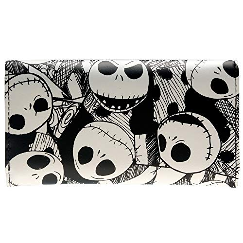 CHITOP The Nightmare Before Christmas - Jack Skellington Wallet - for Women DFT-6010