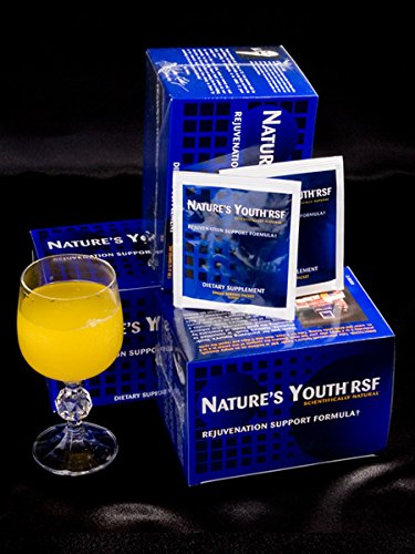 Nature s Youth RSF Amino Acid Booster, Anti-Aging Powder, Secretagogue Gold Rejuvenation Support Formula
