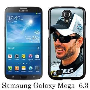 Jimmie Johnson Black New Cool Custom Design Samsung Galaxy Mega 6.3 i9200 i9205 Cover Case