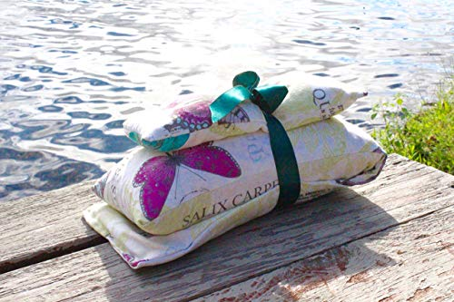 The Therapy Pillow Set: HOURS of comfort:Temperature Therapy (hot/cold), Hug Therapy (3 lbs of pressure), and Aromatherapy. (Comfort Set Essentials)