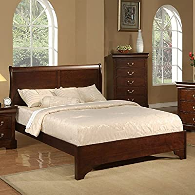 Alpine Furniture West Haven Sleigh Bed