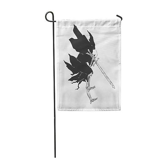 Semtomn - Bandera de jardín de 12 x 18 Pulgadas, diseño de ...