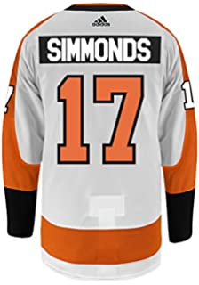 8e257bbbf adidas Wayne Simmonds Philadelphia Flyers Authentic Away NHL Hockey Jersey