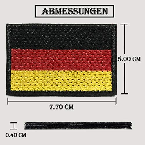 Germany Flag Patch Velcro Airsoft Patches Military Velcro Sticker Badge For Molle Backpacks Velcro Patch Colisal Germany Flag Patch Küche Haushalt
