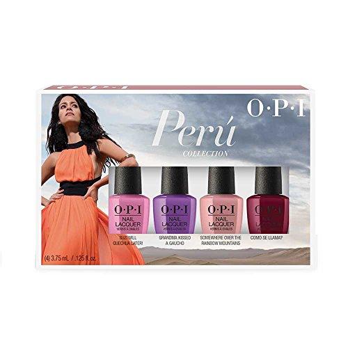 OPI Peru 4 Piece Collection, Nail Lacquer Mini, 0.5 fl. oz.