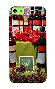Ellent Design Wine Case Cover For Iphone 5c For New Year's Day's Gift