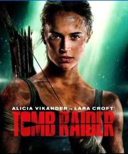 Tomb Raider DVD 2018