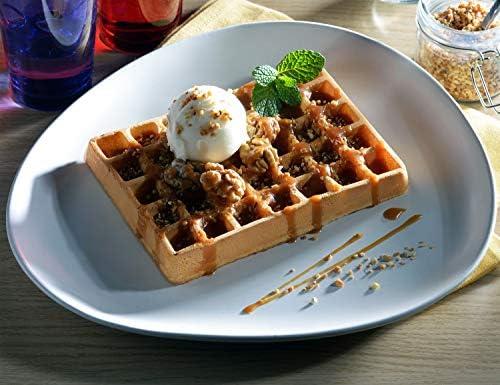 Tefal XA7238 Waffle Iron Waffle Plate Aluminium Waffle Waffle Accessories (Waffle Plate, Tefal, GC706 GO706 GC71 GC73 GR71 GO71, Aluminium, Black, 320mm)