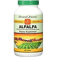 Bernard Jensen's Alfalfa Leaf Tablets - 500 Milligram - 500 Tablets