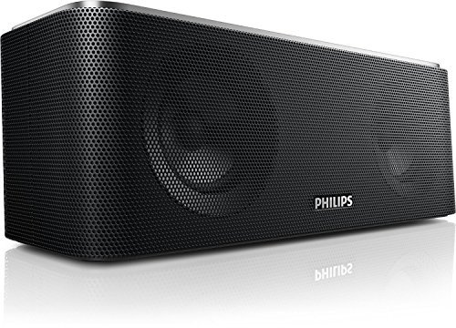 Philips SB365/37 Wireless Bluetooth Portable Speaker with USB charging (Certified Refurbished)
