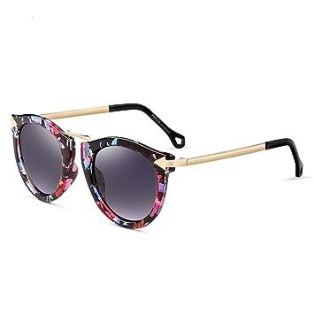 GSHFD Las gafas de sol grandes de moda de marco de mujer Las ...