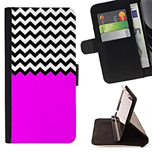 Skull Market - FOR Samsung Galaxy Note 3 III - The purple style - Caja de la carpeta del tir¨®n del cuero de la PU [con ranuras para tarjetas y cierre de solapa magn¨¦tica] P¨¢rese cubierta de la caja