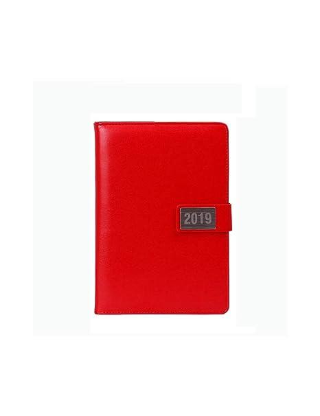 ZXSH Cuaderno Cuaderno Calendario Anual Agenda Diario Agenda ...