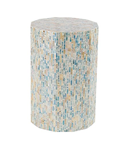 Deco 79 47336 Accent Table Dark Gray, Multi-Color