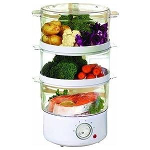 Sabichi 3-Tier Manual Food Steamer