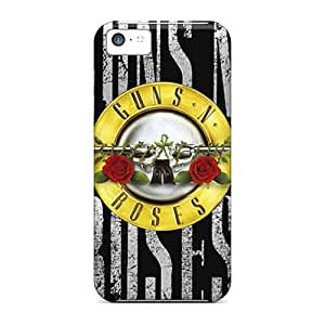JoanneOickle Iphone 5c Shock Absorption Hard Cell-phone Cases Customized Attractive Guns N Roses Pictures [cGN16023mTXX]