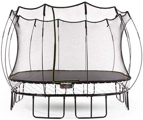 Springfree Trampoline 8 11 13ft Oval Round Square Springless Trampoline with Safety Enclosure Trampoline Only