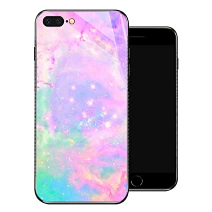 Amazon.com: Funda para iPhone 8 Plus, diseño de flores de ...