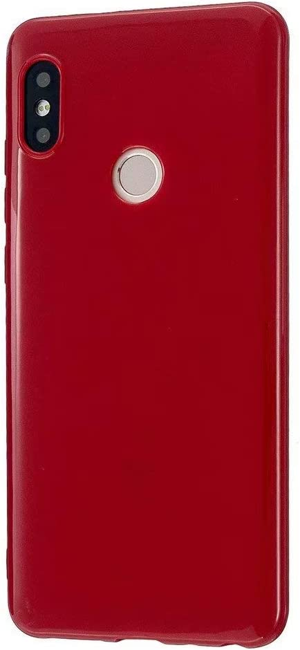 Silicone Gel Rubber Case Flexible Shock Absorbenttective Phone Cover Full Body Case for Xiaomi Redmi Note 5 Pro Red FlipBird TPU Silicone Case for Xiaomi Redmi Note 5 Pro