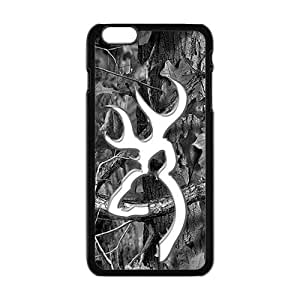 Browning Fashion Comstom Plastic case cover For Iphone 6 Plus by Maris's Diary