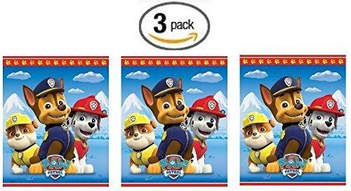 Paw Patrol 8ct Goodie Bags - 3 Pack (Three Pack)
